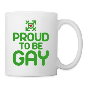 Proud to be Gay (2c) - Coffee/Tea Mug