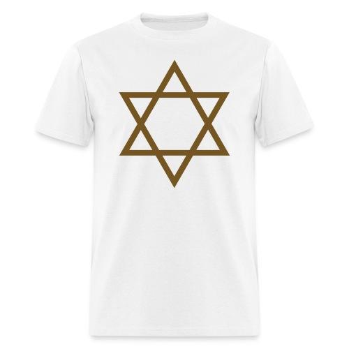 Gold Glitz Star of David - Men's T-Shirt