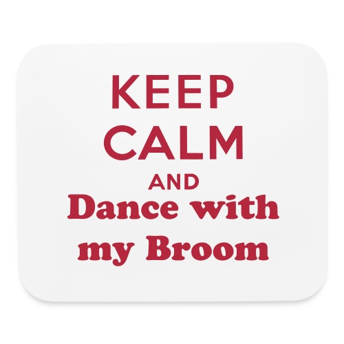 Dance with my broom MousePad - Mouse pad Horizontal