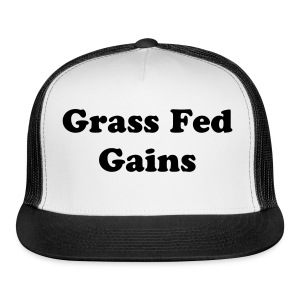 Grass Fed Trucker - Trucker Cap