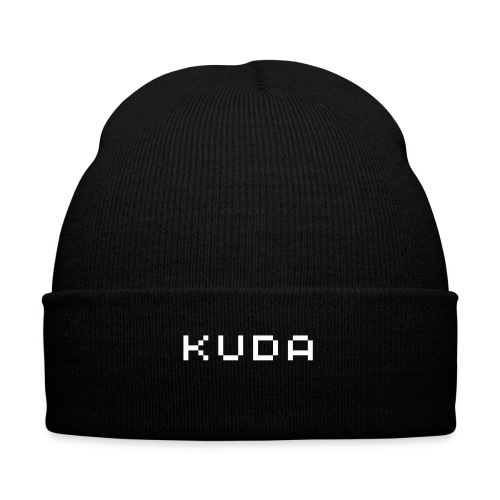 Cheap Winter Hat from Kuda - Knit Cap with Cuff Print