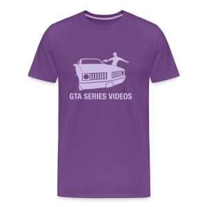 Purple Premium T-Shirt - Men's Premium T-Shirt