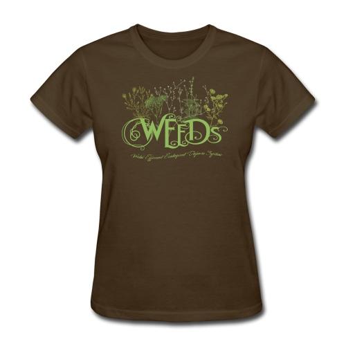 Weeds Wild Efficient Ecological Defense System - Women's T-Shirt