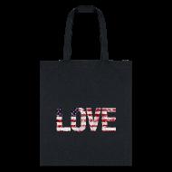 Bags & backpacks ~ Tote Bag ~ USA Flag Love