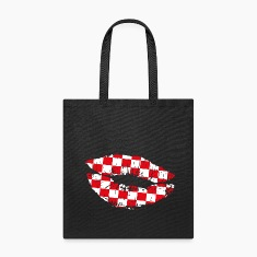 Croatia Kiss Mouth Bags & backpacks