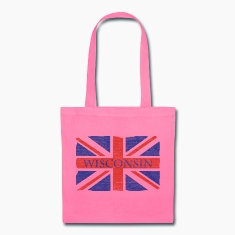Wisconsin UK Flag Union Jack England Bags & backpacks