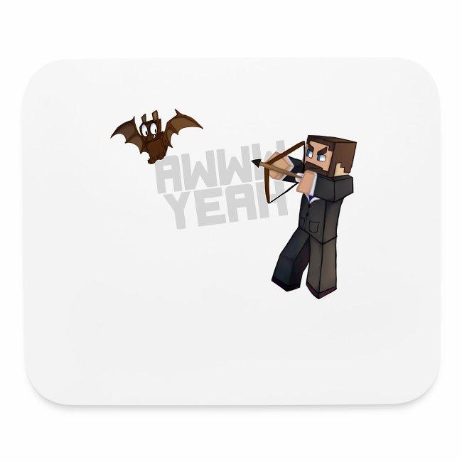 Awww Bat Mousepad