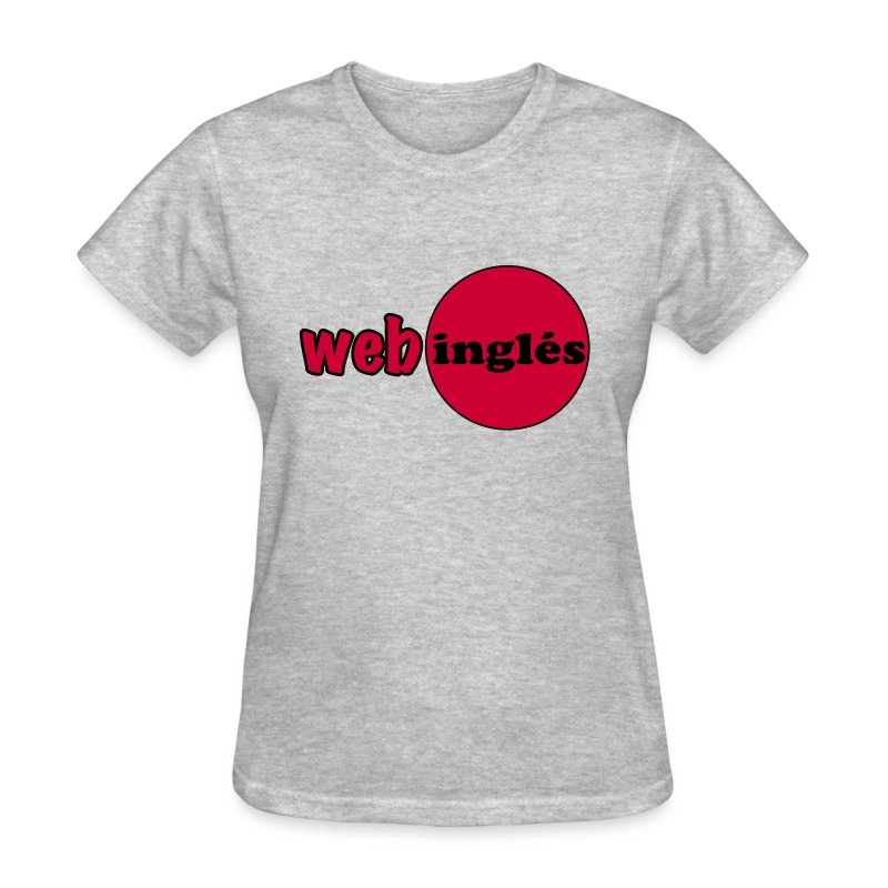 Web Ingles Logotipo Rojo - Women's T-Shirt