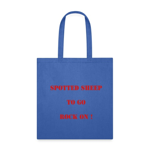 spotted sheep hand bag - Tote Bag