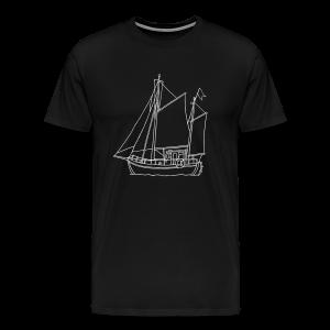 sailing boat - Men's Premium T-Shirt