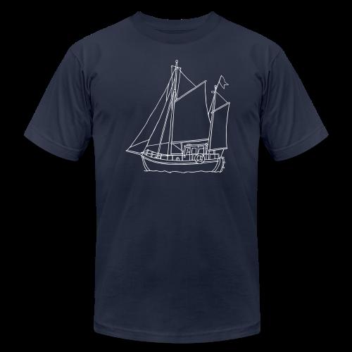 sailing boat - Men's  Jersey T-Shirt