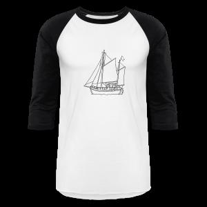 sailing boat - Baseball T-Shirt