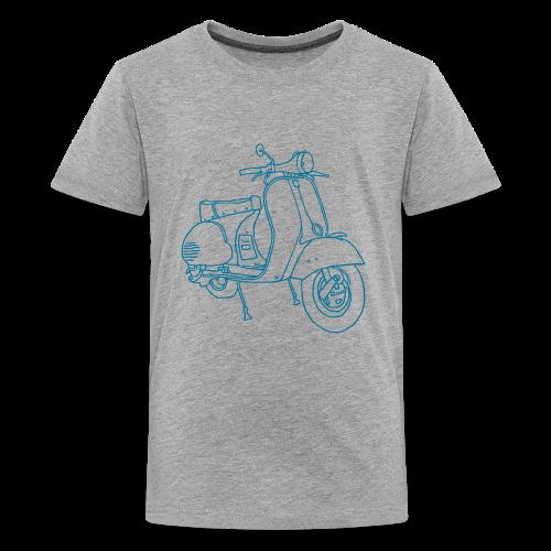 Motor scooter - Kids' Premium T-Shirt