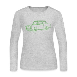 Car (Trabant) - Women's Long Sleeve Jersey T-Shirt