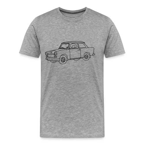 Car (Trabant) - Men's Premium T-Shirt
