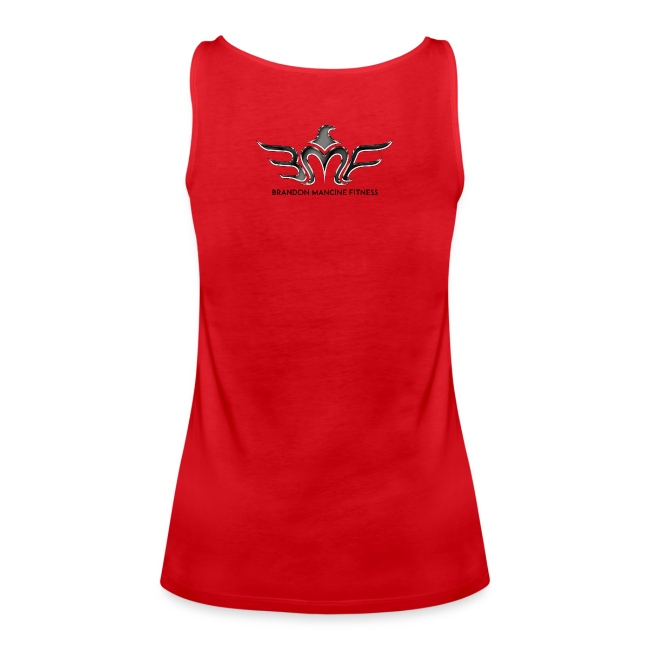 WOMEN'S IDM BLACK w/LOGO on back -TANK