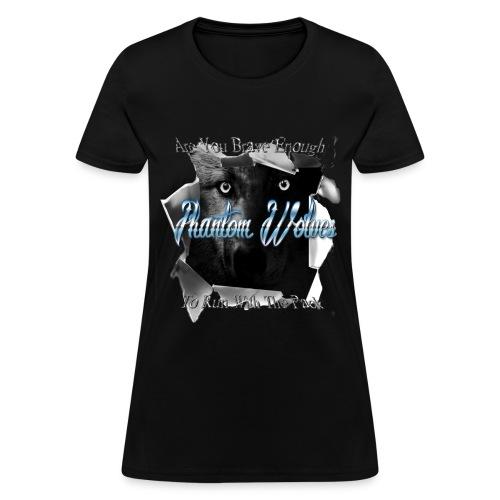 Official Phantom Wolves Bitch - Women's T-Shirt