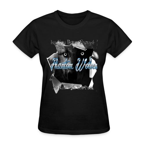 Official Phantom Wolves Bitch - Women's T-Shirt