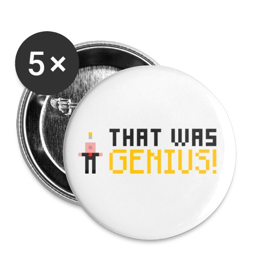 GENIUS! Badges - Large Buttons