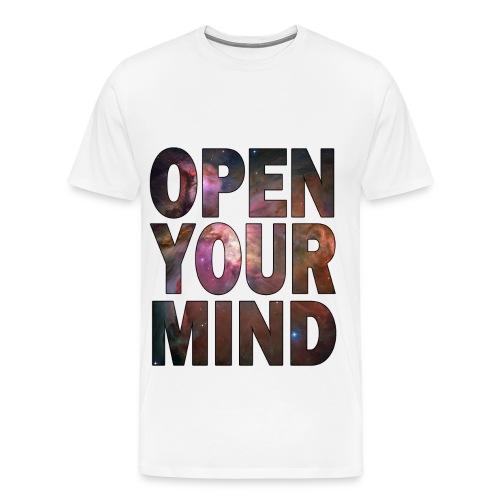 Open Your Mind - Men's Premium T-Shirt