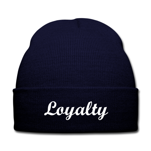 loyalty - Knit Cap with Cuff Print