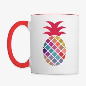 Pineapple - Contrast Coffee Mug