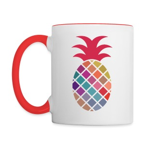 Pineapple - Contrast Coffee Mug