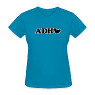 Women's T-Shirts ~ Women's T-Shirt ~ ADHD Squirrel - Women's T-shirt