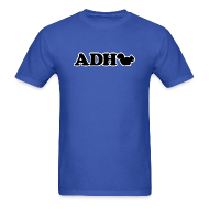 T-Shirts ~ Men's T-Shirt ~ ADHD Squirrel - Men's T-shirt
