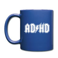 Mugs & Drinkware ~ Full Color Mug ~ ADHD ACDC Logo - Coffee Mug