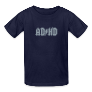 Kids' Shirts ~ Kids' T-Shirt ~ ADHD ACDC Logo - Kid's T-shirt