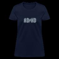 Women's T-Shirts ~ Women's T-Shirt ~ ADHD ACDC Logo - Women's T-shirt