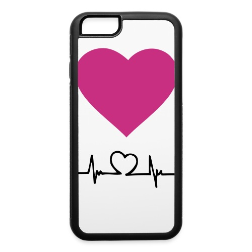 Heart beat case. iPhone6 - iPhone 6/6s Rubber Case