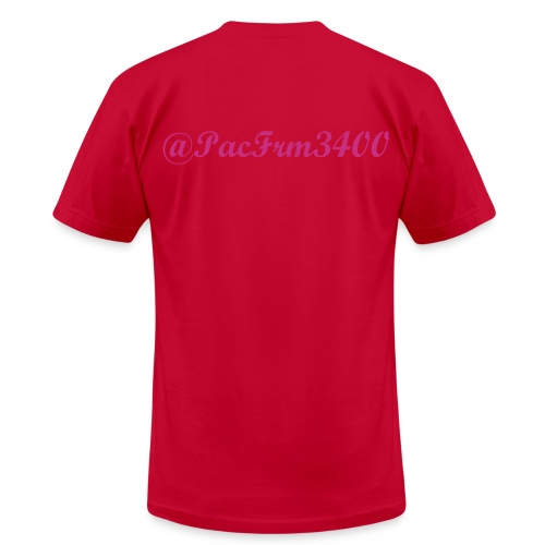 Breast Cancer Lil Pac Shirt - Men's  Jersey T-Shirt