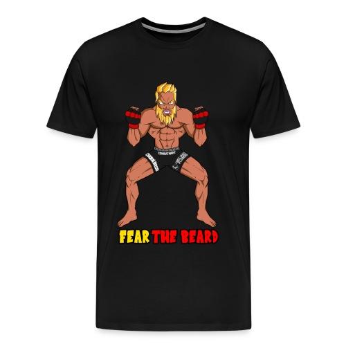 Mitchel Chamale Fear the Beard - Men's Premium T-Shirt