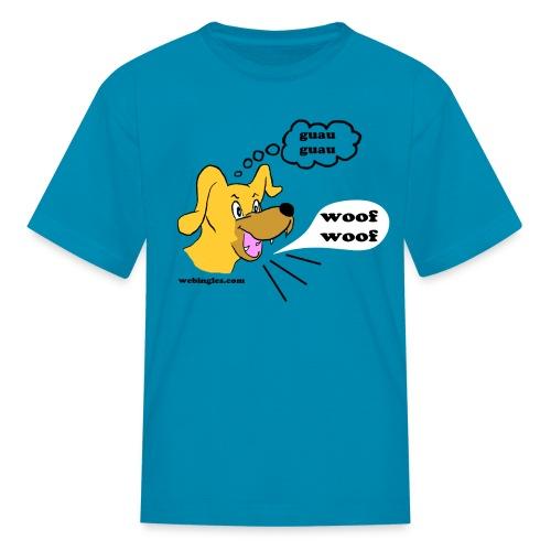 Perro bilingüe - Kids' T-Shirt