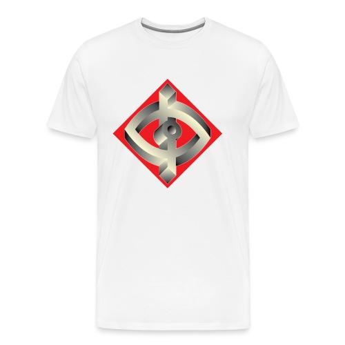 Optik ILL Designs Logo - Men's Premium T-Shirt