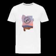 T-Shirts ~ Men's Premium T-Shirt ~ Men's State of Jefferson (map) T-Shirt
