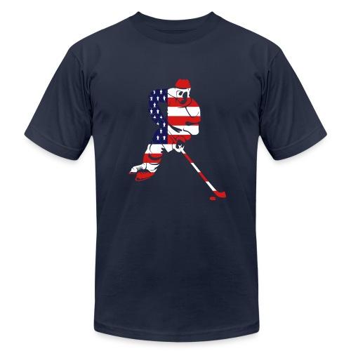 Hockey  - Men's Fine Jersey T-Shirt