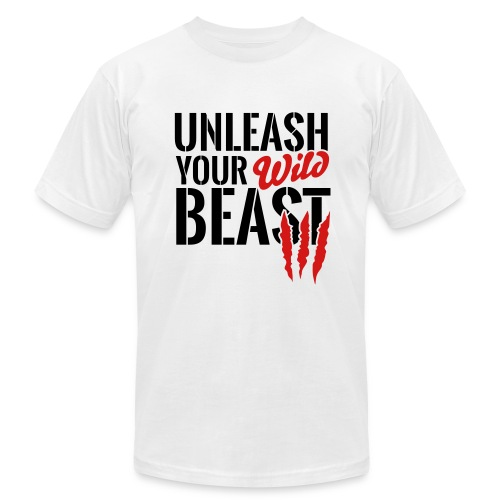 Unleash Your Wild Beast - Men's Fine Jersey T-Shirt