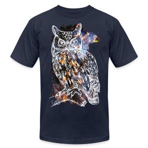 Owl - Men's Fine Jersey T-Shirt