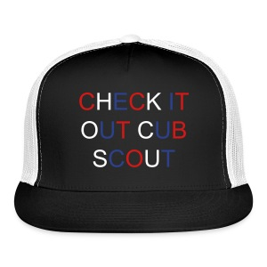 Trucker Hat - Check It Out Cub Scout - Trucker Cap