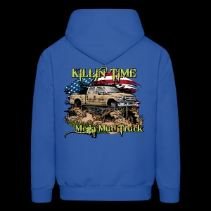 Killin Time BACK - Men's Hoodie