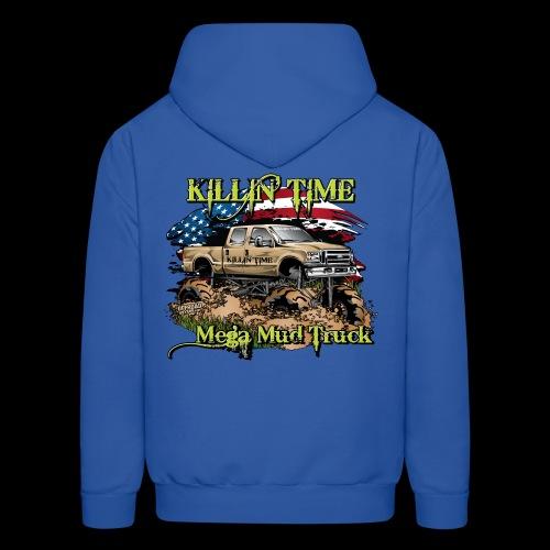 Killin Time BACK - Men's Hoodie