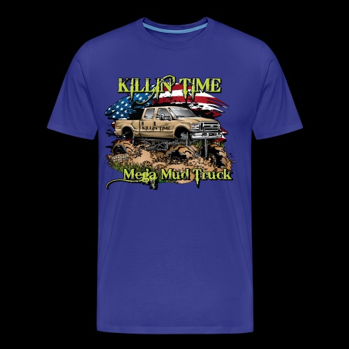 Killin Time FRONT - Men's Premium T-Shirt