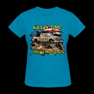 Killin Time FRONT - Women's T-Shirt