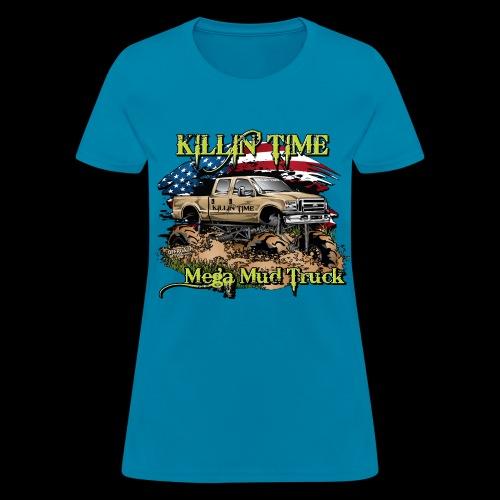 Killin Time FRONT - Women's T-Shirt