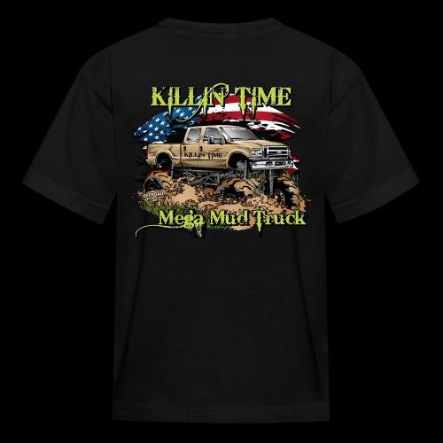 Killin Time Kids BACK - Kids' T-Shirt