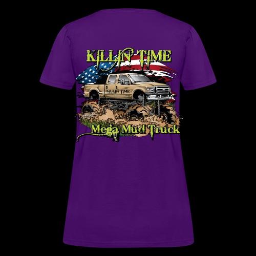 Killin Time BACK - Women's T-Shirt