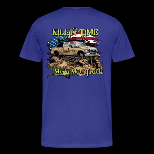 Killin Time BACK - Men's Premium T-Shirt